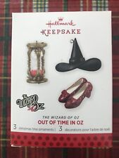 2013 Hallmark Keepsake Ornament  Out Of Time   The Wizard Of Oz. NIB Limited Ed.