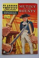 CLASSICS ILLUSTRATED COMICS #100 MUTINY ON THE BOUNTY (O) HRN 100 FN