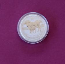 2009 1/2oz .999 Silver Lunar Ox Bullion Coin Perth Mint