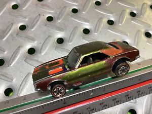 1967 Hotwheels Original Custom Camaro Redline patina Cool