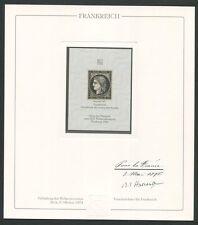 FRANKREICH Nr. 1 OFFICIAL REPRINT UPU CONGRESS 1984 MEMBERS ONLY!! RARE!! z1613