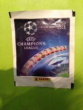 UEFA Champions League football 2010-2011 panini Packet Pack Autocollants Scellé