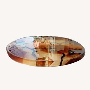 Epoxy Clear Resin Dining Coffee Custom Table Acacia Handmade Luxury Furniture