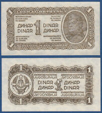 Jugoslavia/YUGOSLAVIA 1 Dinara 1944 UNC p.48