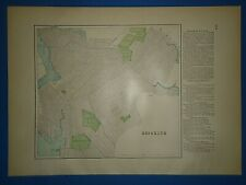 1804 NY MAP Spencerport Springs Springville Town Line NEW YORk HISTORY HUGE!