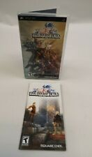 FINAL FANTASY TACTICS THE WAR OF THE LIONS PSP ONLY CASE + MANUAL NO GAME!