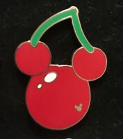 Disney WDW Hidden Mickey Cherry Trading Pin Food Fun Icons Ears Fruit 2008