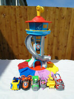 Paw Patrol My Size Look Out Tower Playset & 6 Vehicles And Pup Packs