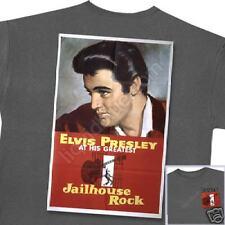 ELVIS PRESLEY ~ JAILHOUSE ROCK GRAY T-SHIRT XL