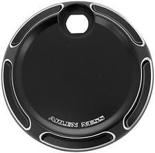 Arlen Ness Fuel Door  Beveled - Black 04-161*