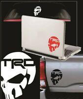 Skull TRD Vinyl Decal Sticker