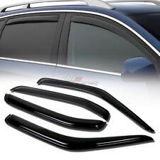 FOR 00-04 NISSAN XTERRA SMOKE TINT WINDOW VISOR SHADE/VENT WIND/RAIN DEFLECTOR