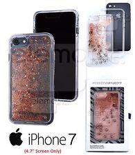 """INCIPIO Rebecca Minkoff Peace Sign Glitterfall Case Cover for iPhone 7 (4.7"""")"""