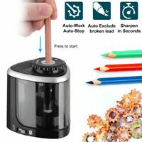 Taille Crayon Electrique Pile Artiste Etudiant Bureau Ecole Automatique Pratique