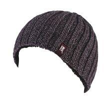 Mens Heat Holders 4.7 Tog Heat Weaver Winter Warm Thermal Hat NEW Softer Warmer