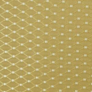 Jay Yang–Turino/Parchment | Embroidered Lattice Brocade | Rayon/Cotton Fabric