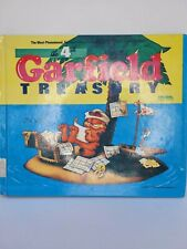 The Fourth 4 Garfield Treasury, By Jim Davis 1987 First Edition Softcover