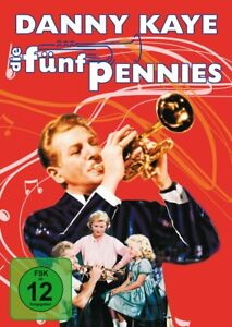 "Die fünf Pennies [DVD/NEU/OVP] Biopic von Loring ""Red"" Nichols mit Danny Kaye,"