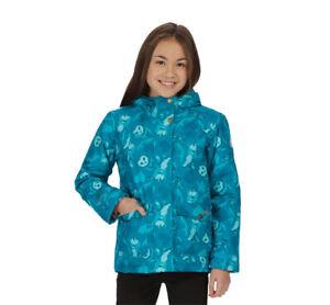 Regatta Kids Girls Rosebank Winter Waterproof Jacket Blue Size 15-16 RRP £55