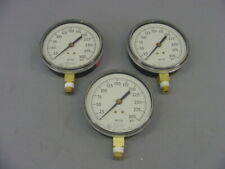 0 - 300 psi Water Pressure Gauge for Fire Protection Service – Qty 3