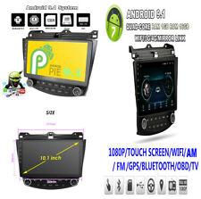 10.1'' Android 9.1  1+16GB Car Stereo Radio GPS MP5 WIFI DAB For Honda Accord