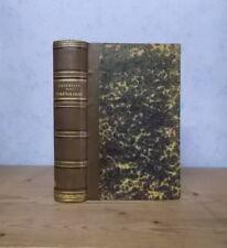MEDECINE PSYCHOLOGIE CERVEAU COURS DE PHRENOLOGIE (BROUSSAIS 1836, E.O.).