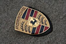 Porsche 986 987 996 997 Boxster Carrera Cayman Front Hood Crest Emblem Insignia