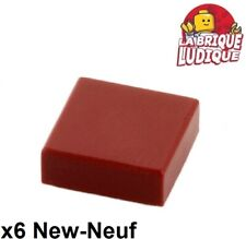 Lego 10x Tile Round plaque rond lisse 1x1 rouge trans red 98138 NEUF