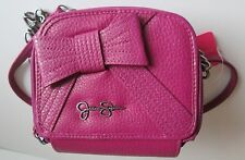 "Jessica Simpson Bag Purse 5.5"" High, 6"" Long & 2.5"" Wide, Strap, Bow, Pink"