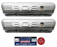 .HOLDEN 308 EMBOSSED TAPPET ROCKER COVERS COMMODORE TORANA MONARO SANDMAN SS GTS