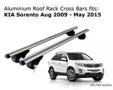 Aluminium Roof Rack Cross Bars fits KIA SORENTO XM with roof rails 10/09 - 05/15