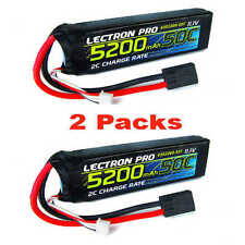 Lectron Pro 11.1V 3S 5200mAH 50C Lipo Battery w/ Traxxas Connector (2pcs)