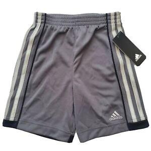 Adidas Athletic Shorts, Kids Size 4, Dark Gray, Gym, Grey C5, M