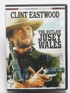 The Outlaw Josey Wales (DVD, Clint Eastwood Collection, 1976) - G1219