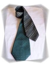 Lot de 2 Cravates Fantaisies  Grise et Verte Laurent Cerrer