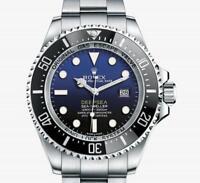 For Rolex Deep SeaDweller HD Clear Crystal/Bezel/Full Clasp n Case Sides x2