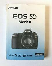 Canon EOS 5D Mark II Gebrauchsanleitung / Bedienungsanleitung Deutsch