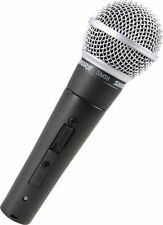 Shure SM58S SM58 Mic with On/Off Switch Handheld Live Vocal Microphone