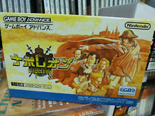 Napoleon (2001) New Factory Boxed Japan Nintendo Game Boy Advance GBA Import