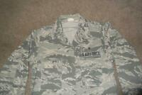 Military ABU Shirt 38S Man's Tiger Stripes Airman Battle Uniform USAF #376