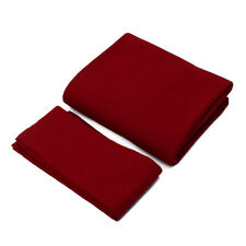 POOL TABLE SPEED CLOTH STRACHAN BURGUNDY 7x4 QUALITY POOL TABLE BED & CUSHIONS