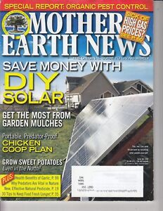 Mother Earth News MAGAZINE June/July 2011 DIY Solar - Organic  - CHICKEN COOP