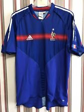 France National Team 2004/05 Men's Shirt Top Jersey Adidas Soccer Men's Sz L