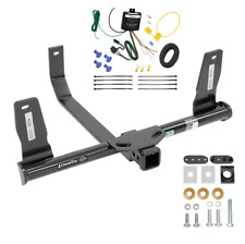 Trailer Tow Hitch For 10-15 Mercedes-Benz GLK350 w/ Wiring Harness Kit -NO DRILL