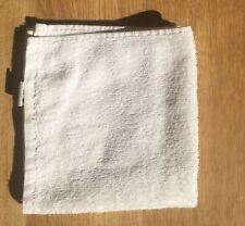 small FACE TOWEL white good quality Boots 30x28cm