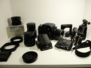 MAMIYA RB67 PRO-S 6x7 Full Set in Case ! Excellent condition ! Light use !