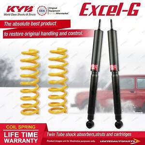 Rear KYB EXCEL-G Shock Absorbers STD King Springs for HOLDEN Adventra VYII VZ