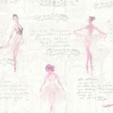 Pirouette Ballet DANSEURS Papier peint rose - Arthouse 668200 BALLERINE NEUF