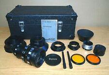 RARE!!! Soviet lens FOTON LOMO zoom 37 - 140mm / 3.5 + 5 adapters