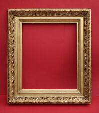 Profilrahmen Frankreich 19. Jh. - Holz, Ornamente Masse, vergoldet    (# 2632)